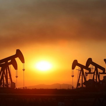 Oil Implied Volatility Breaks Out as Rig Count Declines Sharply