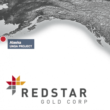 Redstar Gold starts drilling 1450 metres at Unga Island, Alaska: testing for extension and continuity of historical high-grade