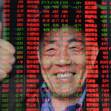 Chinese Equity Market Bubble Builds