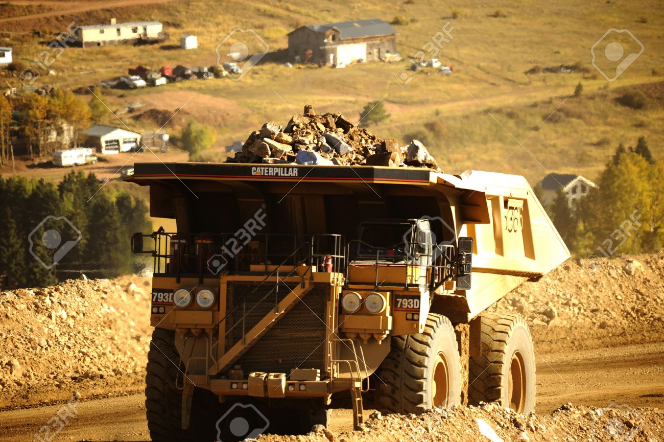 Today, the status of gold mining