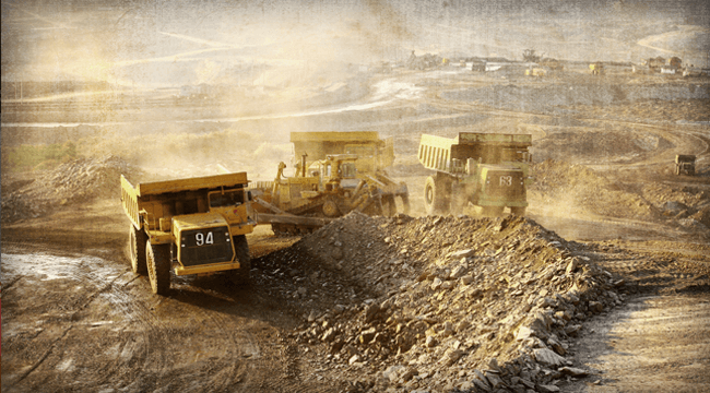 Gold Miners Set For Big Move After Record Period of Calm