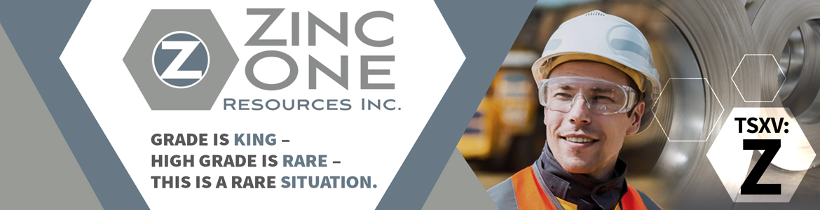 Zinc One Reports Additional High-Grade Zinc Results From Surface Samples at Bongará Zinc Mine Project