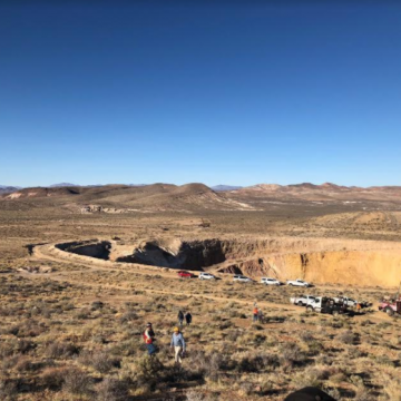 Northern Empire Mobilizes Third Drill Rig to Nevada Gold Project